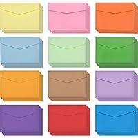60 Pezzi Buste Mini Multi Colore Carino Bello Buste (4.6 per 3.2 Pollici) per Biglietto Regalo di Nozze, Forniture Festa di Compleanno