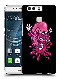 Snoogg Multiple Mouth Designer Protective Back Case Cover For HUAWEI HONOR P9