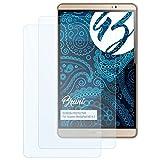 Bruni Schutzfolie für Huawei MediaPad M2 8.0 Folie - 2 x glasklare Displayschutzfolie