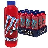 Monster Hydro Manic Melon / Energy Boost mit stillem Melonengeschmack / 12 x 550 ml Einweg Flasche