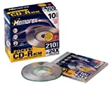 Memorex Mini-CD-R CD-Rohlinge 210MB (24x) Slim Jewel Case 10er-Pack