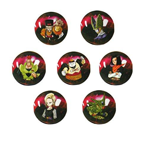 Canicas Dragonball Z, 7 bolas de cristal 22mm Androides