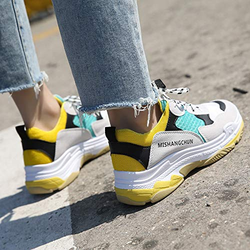 JIAODANBO Super Fire Shoes Female Spring Old Shoes Versione Coreana Di Harajuku Wild Sports Shoes 2018 Nuove Piccole Scarpe Bianche