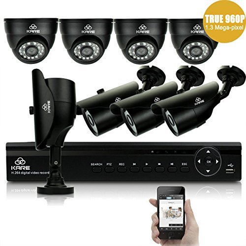 true-960p-pro-hd-kare-8ch-intelligente-sistema-cctv-dvr-4x-day-night-dome-4x-bullet-telecamere-960p-