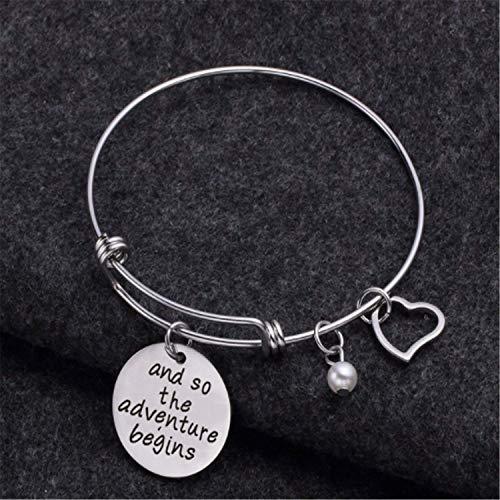 Imagen de pulsera keybella best friends e inspirational pulseras de la amistad, ajustable, regalos, joyas sister gift. alternativa
