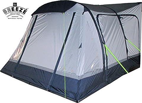 Olpro Loopo Breeze Inflatable Camper Van Awnings - Blue/Grey, 310