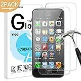[2 Stück] iPhone SE/5C/5S/5 Panzerglas Glasfolie Glas Schutzfolie ,Yica 0.25 mm 9H Hartglas...