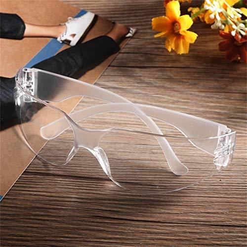 Schutzbrille Windschutz Brille Windschutz Sportbrille Fahrradbrille Fahrradbrille Fahrradbrille Anti-Kratzer, clear, 1