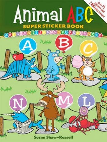 Animal ABC Super Sticker (Abc Sticker Book)