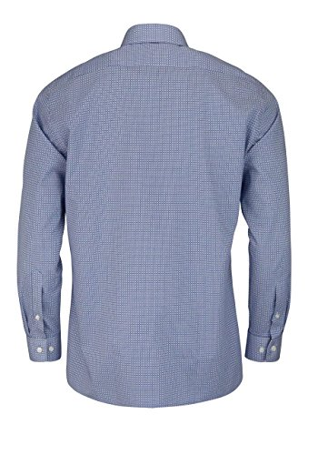 Herren Hemd Luxor Modern Fit Langarm Blau