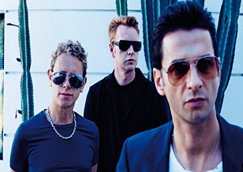 Depeche Mode 8David Gahan Martin Gore Andrew Fletcher toller Rock-Metal Album Cover Design Musik Band beste Foto Bild Einzigartige Print A3Poster 8 Gore-cover