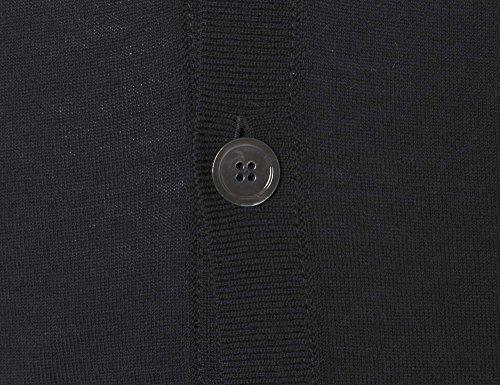STRENESSE Messieurs Débardeur tricoté Noir