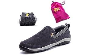 TFO Trekking Schuhe Herren Wasserabweisende und Atmungsaktive Wanderschuhe mit Anti-Rutsch-Sohle(Hersteller-GRÖSSENTABELLE IM PRODUKTBILD BEACHTEN)