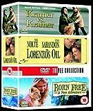 Kramer Vs Kramer/Lorenzo's Oil/Born Free [UK Import]