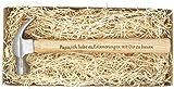 Gravierter Holzhammer