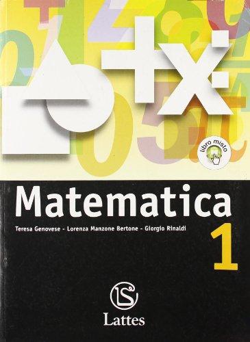 Matematica. Con tavole numeriche. Con espansione online. Per la Scuola media: 1