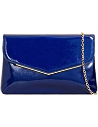 Girly HandBags Glossy Vintage Clutch Bag