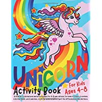 Unicorn Activity Book for Kids ages 4-8: A children