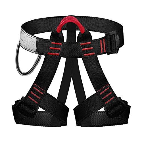 ENJOHOS Klettergurt Absturzsicherung Sicherheitsgurt Taille CE Zertifiziert für Bergsteigen Sportklettern Baumklettern Feuerwehr Outdoor