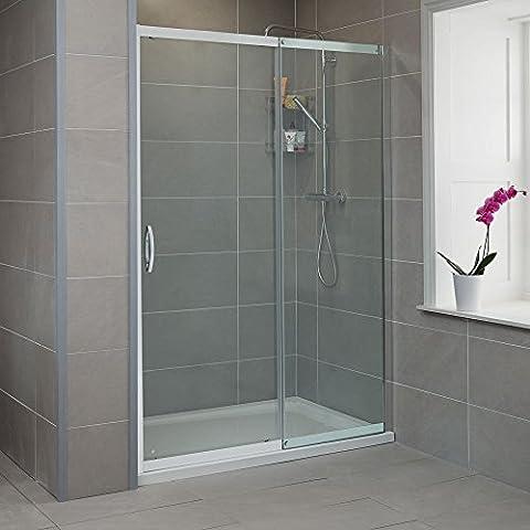Sliding Shower Door 1500 Glass 8mm Alcove Enclosure