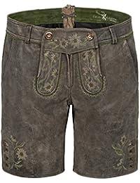 d5c15b0b3f63 Michaelax-Fashion-Trade Spieth   Wensky - Kurze Damen Trachten Lederhose,  Galaxie (