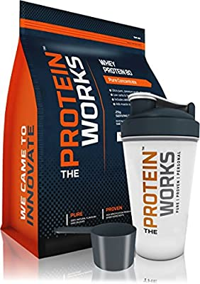 THE PROTEIN WORKS, Whey Protein 80, Premium Grade Whey Protein Concentrate Shake, Apple Cinnamon Swirl - 2 kg