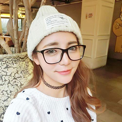 SCJ Han Ban quadratischen Rahmen weibliche Brille Rahmen die weiche jüngere Schwester das runde Gesicht Gesicht ohne Make-up Absolute Maschine Wieder zu beleben Alten Bräuchen transparent und an