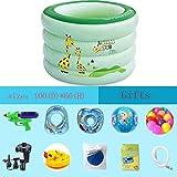 LXQGR Aufblasbare Schwimmen Paddeln Spielen Pool Spielzeug Kinder Childs Kinder Baby Familie Größen,B