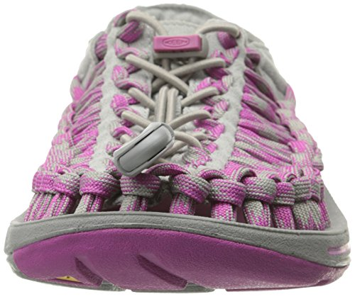 Keen Wassersandalen UNEEK 8MM NEUTRAL GRAY/DAHLIA MAUVE