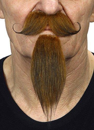 Preisvergleich Produktbild Mustaches Rotoranger Kaiser Napoleon III. fälschen,  selbstklebend Schnurrbart mit Bart