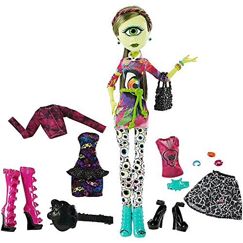 Monster High - I love Fashion - Iris Clops - Tochter des Zyklopen - Love I Fashion High Monster