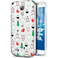 Galaxy S4 Hülle,Galaxy S4 Silikon Hülle Tasche Handyhülle,SainCat Christmas Weihnachten Muster TPU Schutz Handy... preisvergleich bei billige-tabletten.eu