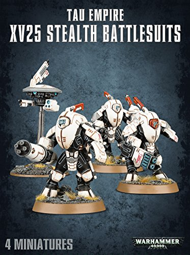 Games Workshop 99120113062 Tau Empire XV25 Stealth battlesuits Plastic Kit -