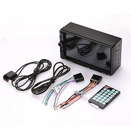 Sedeta 7inch 2 Din Auto Bluetooth Stereo FM Radio MP5-Spieler Mit Rückfahrkamera für den Fahrer
