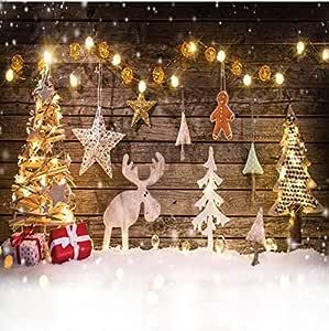 Dudaacvt 2 4 X 2 4 M Weihnachten Hintergründe Winter Kamera