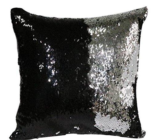 Due colori Paillettes cuscini acaro della polvere resistente molti colori