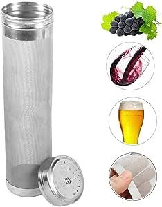 Birra Filtro Lavabile e Riutilizzabile in Acciaio Inox Home Birra Brewing Kettle per la Cartuccia del Filtro della Birra