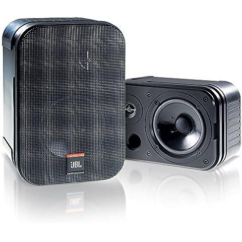 JBL Control 1 PRO - Altavoz con soporte de 150 W (estéreo), negro