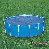 Bestway 58173 - Telo isotermico Bestway per piscina Frame rotonda da 549 cm