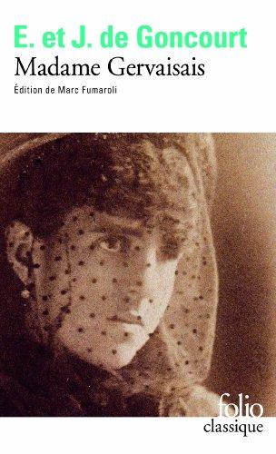 Madame Gervaisais par Edmond et Jules de Goncourt