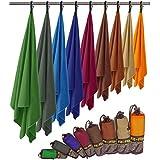 Microvezel handdoeken in ALLE afmetingen/12 kleuren - ultralicht, compact, & sneldrogend - Microvezel handdoek - de perfecte