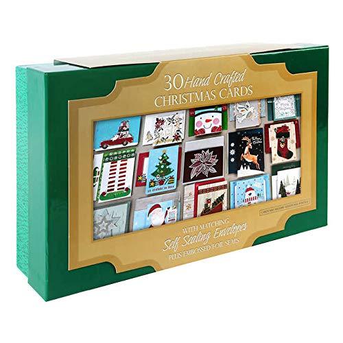 selbstklebendem Umschlag in Andenkenbox, verziert und handgefertigt, 30 Stück ()