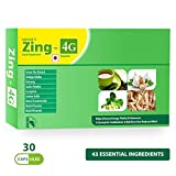 Carbamide Forte Zing-4G Multivitamins, Multimineral Capsules with Amino Acids and Natural Extract health Supplement for Men, Women and Seniors (30 Capsules)