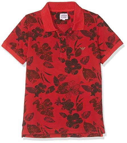 ARMANI JUNIOR Poloshirt rot 6 Jahre (116 cm) - Armani Junior