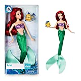 DISNEY STORE ARIEL CLASSIC DOLL WITH FLOUNDER 12 by Disney
