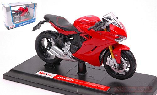 NEW MAISTO MI17040 Ducati Supersport S 2017 Red 1:18 MODELLINO Die Cast...