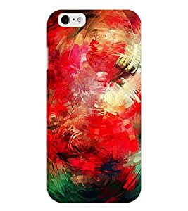 Chiraiyaa Designer Printed Premium Back Cover Case for iPhone 6 (painting colors) (Multicolor)