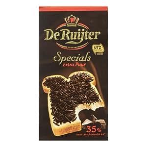 2 Box De Ruijter Originals Extra Puur Hagelslag (Specails Extra Puur vol van smaak /Special Extra Dark Chocolate Sprinkles) 35% meer cacaobestanddelen dan De Ruijter Chocoladehagelslag Puur. by De Ruijter