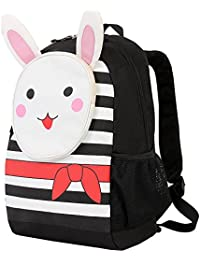 French West Indies Kid'S Backpacks (Black /White & Red) By Swiss Gear