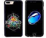 Coolwearings Ultra Slim Étui Housse pour iPhone 7 Plus Coque Brand Logo Kenzo Coque...